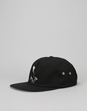 RIPNDIP Lord Nermal 5 Panel Cap - Black