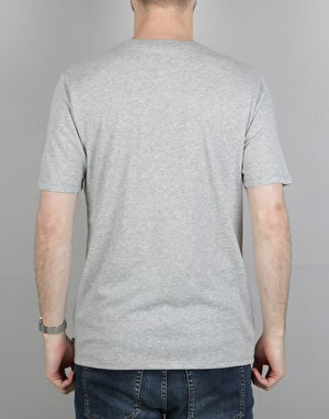 Nike SB Logo T-Shirt - DK Grey Heather/Deep Night