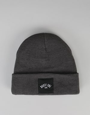 Route One Digital Cuff Beanie - Slate Grey