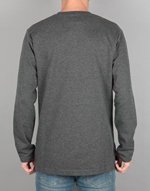DC Erlandson Henley Sweatshirt - Heather Charcoal