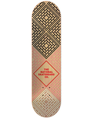 The National Skateboard Co. Logo Team Deck - 8