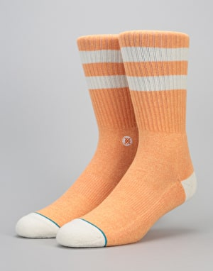 Stance Salty Classic Crew Socks - Orange