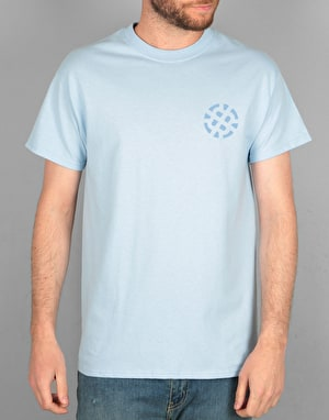 Route One Stamp Logo Tonal T-Shirt - Light Blue