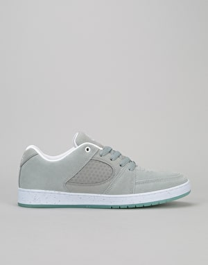 éS Accel Slim Skate Shoes - Grey/Blue