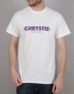 Chrystie OG + Japanese Logo T-Shirt - White