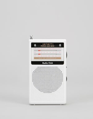 Carhartt x Radio Club Portable Radio - White