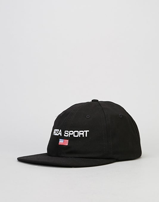 Pizza Sport Cap - Black