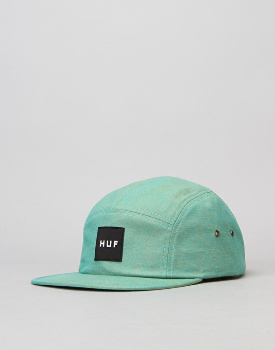 HUF Osaka Volley 5 Panel Cap - Emerald