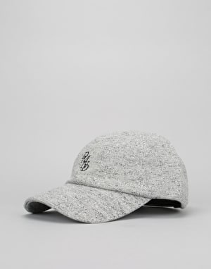 Diamond Serif Sports Cap - Heather Grey