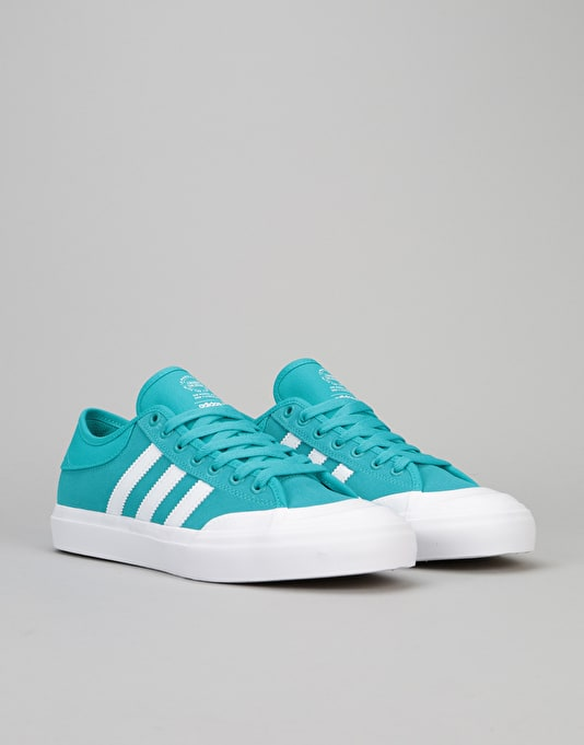 Adidas Matchcourt Skate Shoes - Energy Blue/White/Gum
