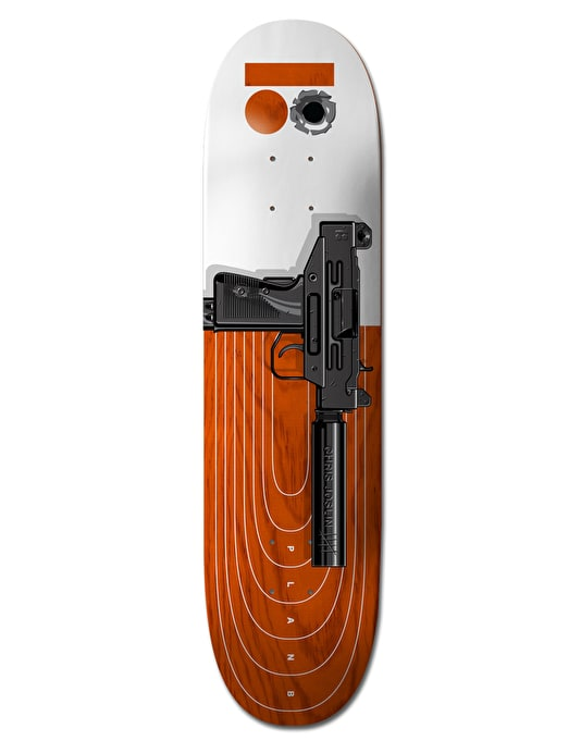 Plan B Joslin Heat Pro.Spec Skateboard Deck - 8.25""