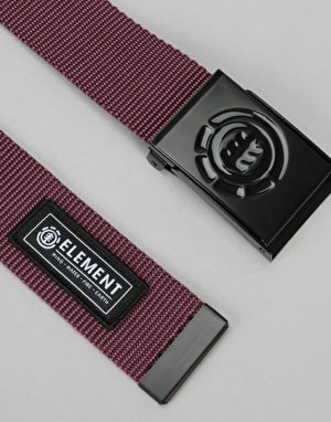 Element Beyond Web Belt - Napa Red