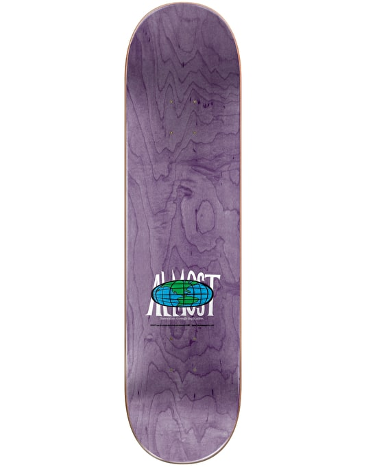 """Almost x Hanna-Barbera Youness Droopy Stretch Skateboard Deck - 8"""""""