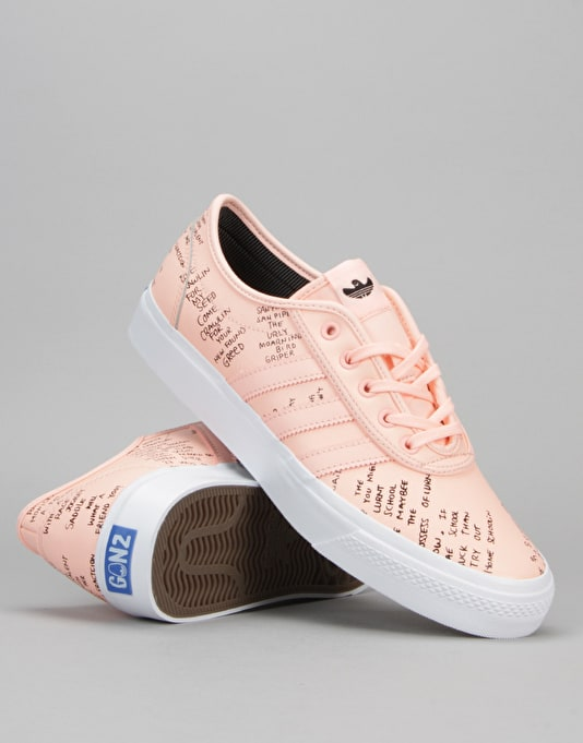 Adi Ease Classified Shoes Haze Coral, Black In Stock at The