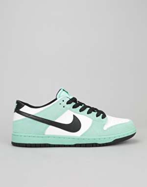 Nike SB Dunk Low Pro Ishod Wair Skate Shoes - Green Glow/Black-White