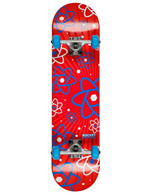 Rocket Multiply Atom Series Complete Skateboard - 7.75