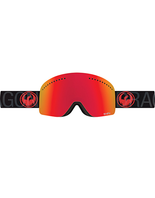 Dragon NFX 2017 Snowboard Goggles - Covert/Red Ion