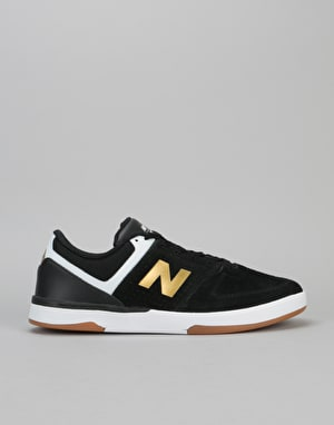 New Balance Numeric 533 V2 Skate Shoes - Black/Gold
