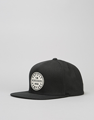Herschel Supply Co. T.M. Snapback Cap - Black