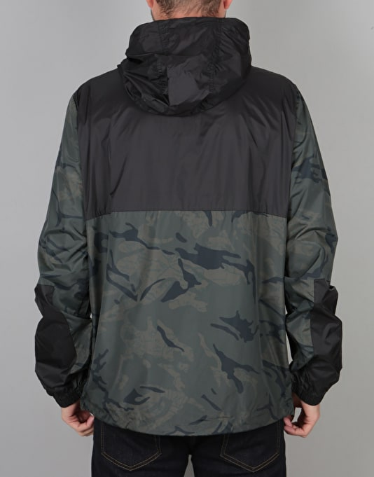Element Alder Pop Jacket - Map Camo