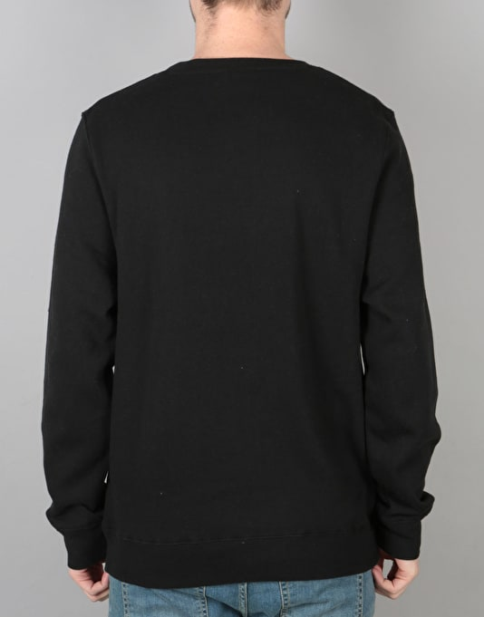 Stüssy Burly Threads Sweatshirt - Black