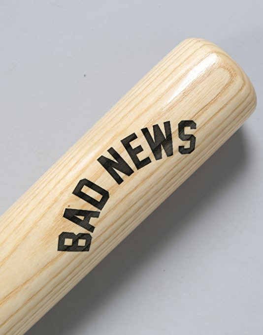 Grizzly Bad News Baseball Bat - Natural