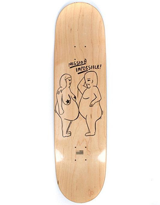 RIPNDIP Mission Impossible Skateboard Deck - 8.5""