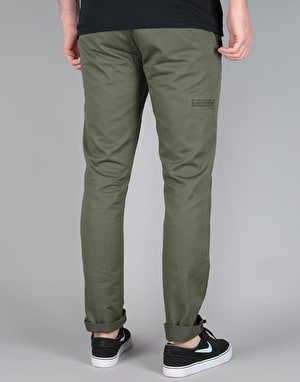 DC Skinny Slim Fit Chino Pants - Fatigue Green