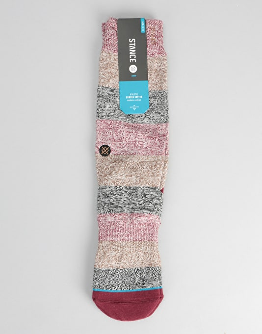 Stance The Boss Classic Crew Socks - Brown Heather