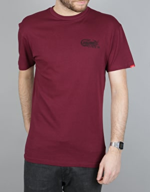 Vans Full Cab T-Shirt - Burgundy