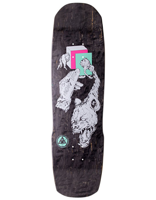 Welcome Face of a Lover on Totem Skateboard Deck - 8.8""