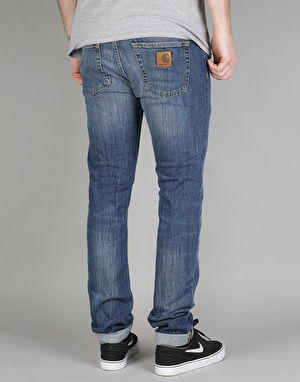 Carhartt Rebel Denim Jeans - Blue Dock Washed
