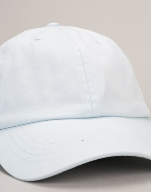 Route One Low Profile Dad Cap - Pastel Blue