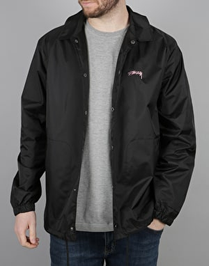 Stüssy Spring Coach Jacket - Black