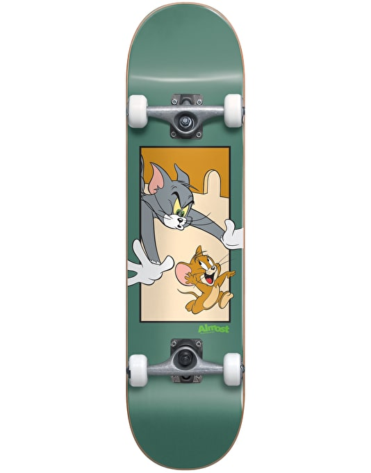Almost x Hanna-Barbera Tom and Jerry Complete Skateboard - 7.75""