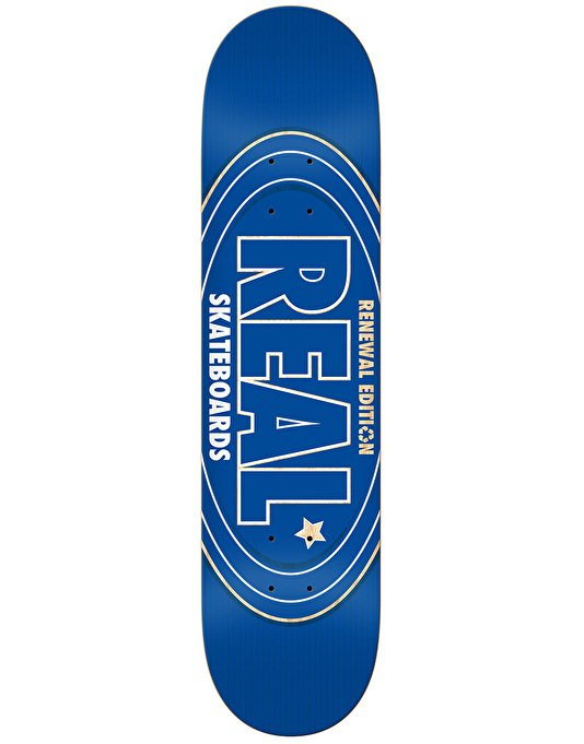 Real Renewal Oval Team Deck - 7.75""