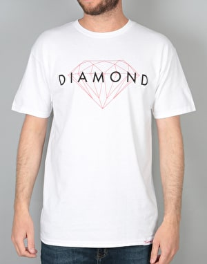 Diamond Supply Co. Brilliant T-Shirt - White