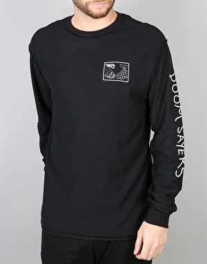 Doom Sayers Snake Shake L/S T-Shirt - Black
