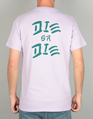 The Quiet Life Die Or Die T-Shirt - Lilac