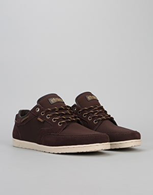 Etnies Dory Skate Shoes - Brown/Tan/Brown