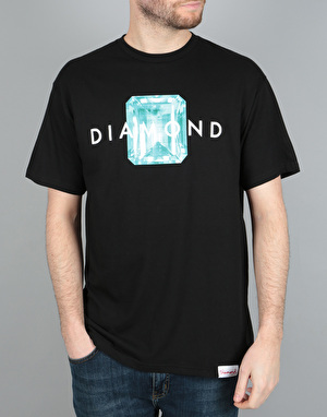 Diamond Supply Co. Emerald T-Shirt - Black Blue