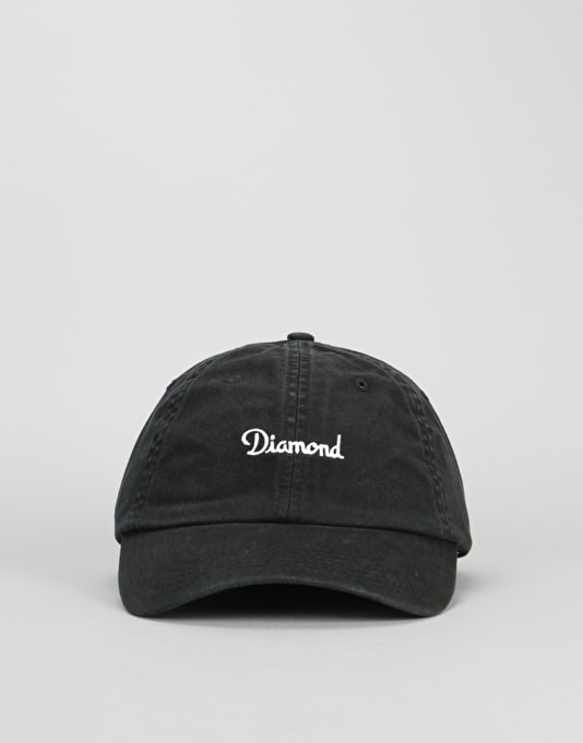 Diamond Supply Co. Champagne Sports Cap - Black