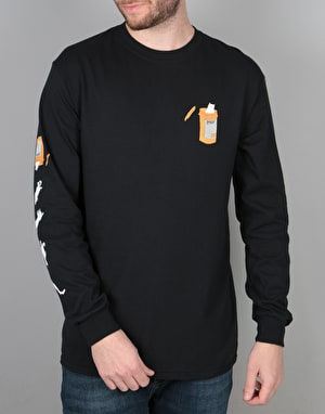 RIPNDIP Nermal Pills L/S T-Shirt - Black