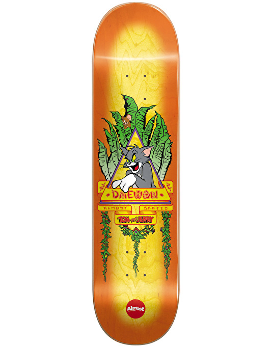 Almost x Hanna-Barbera Daewon Tom Panther Skateboard Deck - 8.25""