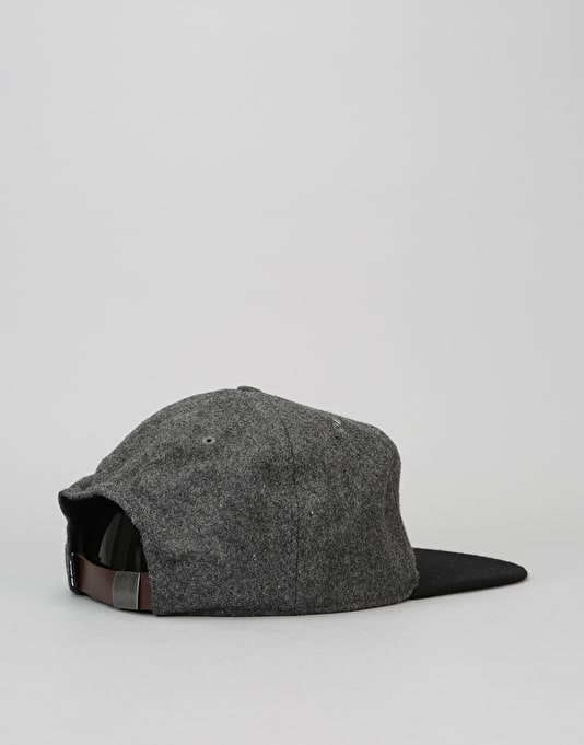 Nike SB Varsity S+ Strapback Cap - Carbon Heather/Black/Black/White