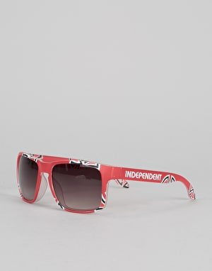 Independent Cross Bar Sunglasses - Cardinal Red