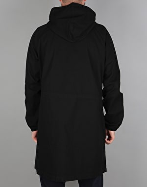 Stüssy Light Ripstop Hooded Jacket - Black