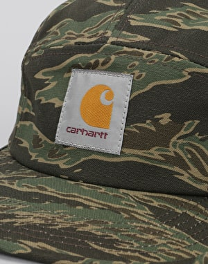 Carhartt Backley 5 Panel Cap - Camo Tiger/Laurel