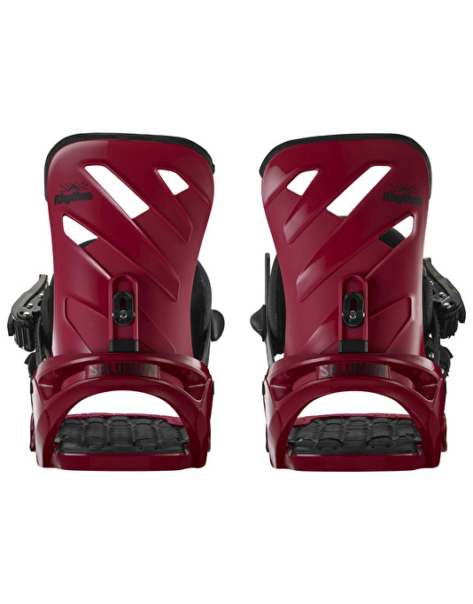 Salomon Rhythm 2017 Snowboard Bindings - Red