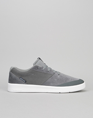 Supra Shifter Skate Shoes - Grey/White
